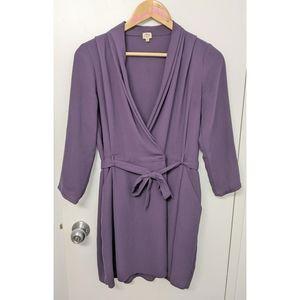 Wilfred Aritzia franca wrap dress size 4